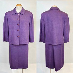 NWT St. John Collection Knit Suit XL